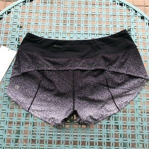 "Lululemon Speed Up Short *2.5"" - Ombre Speckle"